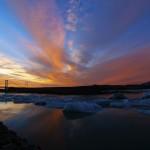 jokullsarlon_tramonto