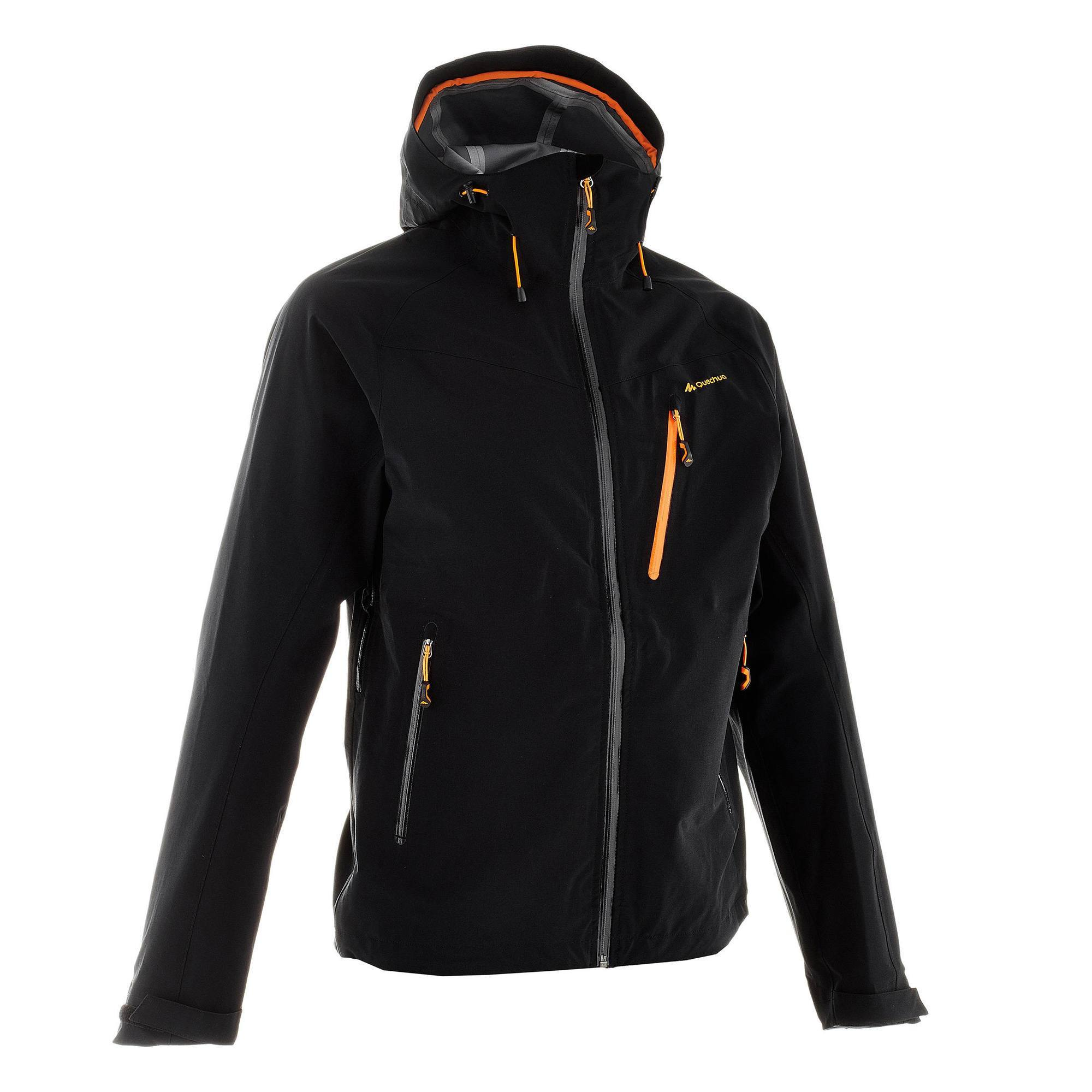 size 40 e0763 f2691 Test giacca Quechua Decathlon Forclaz 400 nera uomo - Slow ...